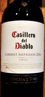 Concha y Toro Diablo コンチャイトロ ディアブロ 2006