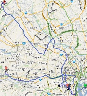 20101231ビッグサイト→新宿→きょーじゅ宅