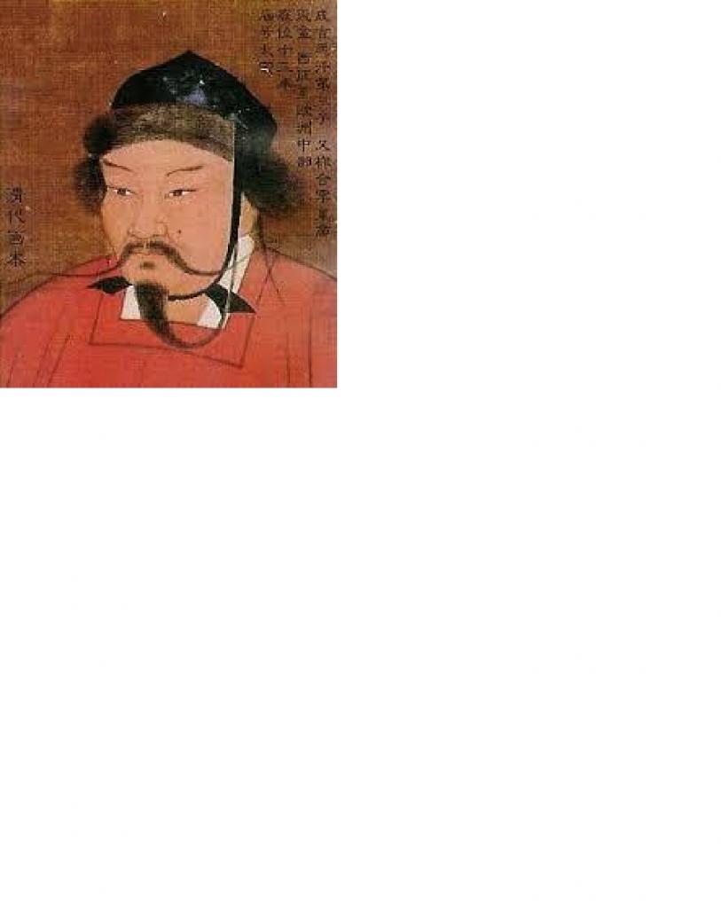 チンギス・ハーン肖像
