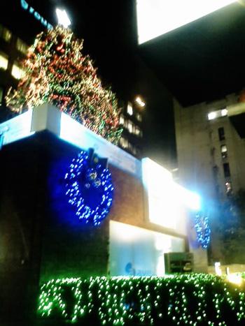 2008年青山エイベックスのクリスマス