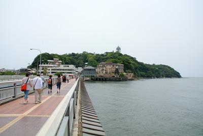 いよいよ江ノ島へ