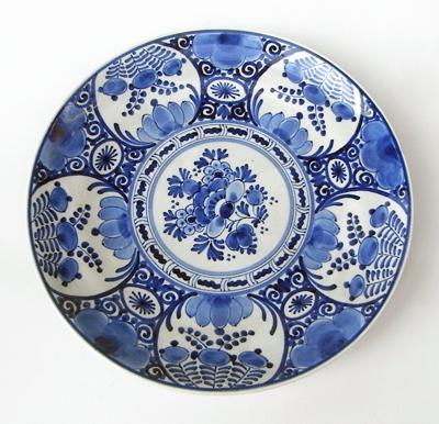 ロイヤルデルフト、オランダ陶器、コバルト