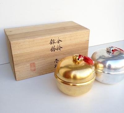 山田平安堂、漆器、金鈴銀鈴、寿々、縁起物