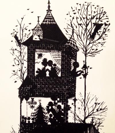 BjornWiinbladビョルン・ウィンブラッド、デンマーク、版画、フレーム、クリスマス