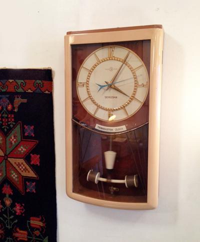 精工舎、SEIKO、トランジスタークロック、壁掛け時計、振子時計