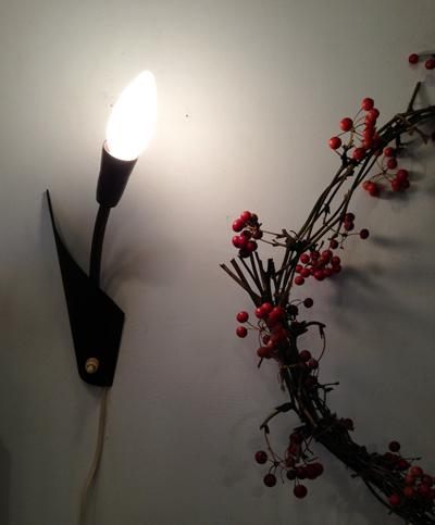 ブラケットランプ、北欧ビンテージ、スウェーデン、アンティーク照明