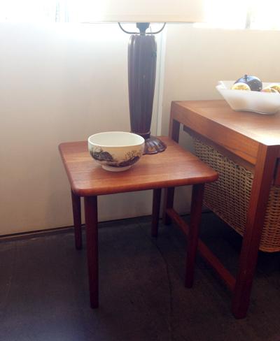 テーク、サイドテーブル、北欧