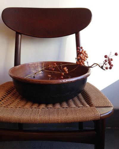 さわり鍋、銅鍋、打出し鍋、和菓子、道具