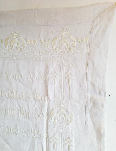 タペストリー、刺繍フレーム、サンプリング、北欧、アンティーク、リネン