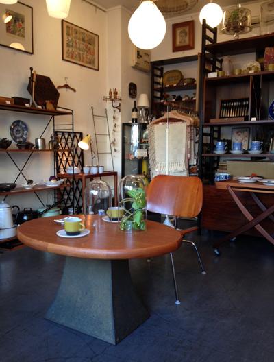 ナンセンス最新店内、2015春、チーク家具、北欧コーディネート
