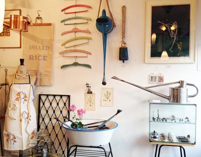 ナンセンス、ガーデンスタイル、ディスプレイ、盆栽、ジョーロ