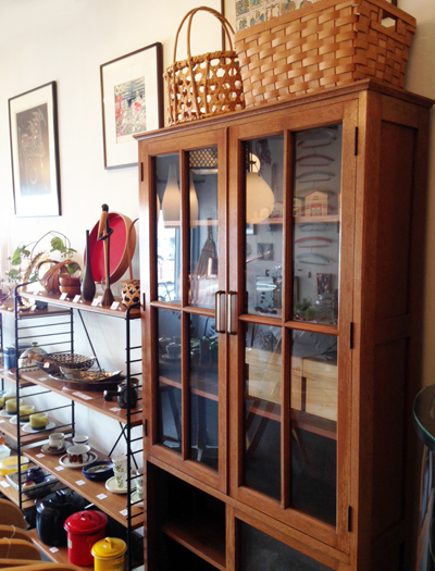 ブックシェルフ、キャビネット、食器棚、ヴィンテージ
