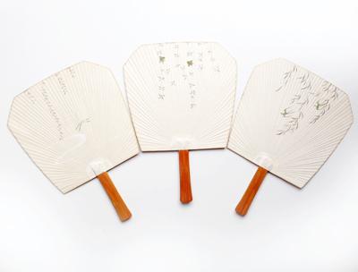 和紙、団扇、うちわ、芹沢銈介、型押し、手透き、伝統工芸