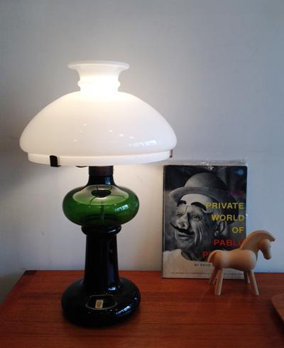 ホルムガード、ボードランプ、テーブルランプ、Holmegaard、GRANNY、MICHAELBANG、北欧、ヴィンテージランプ、ガラス照明