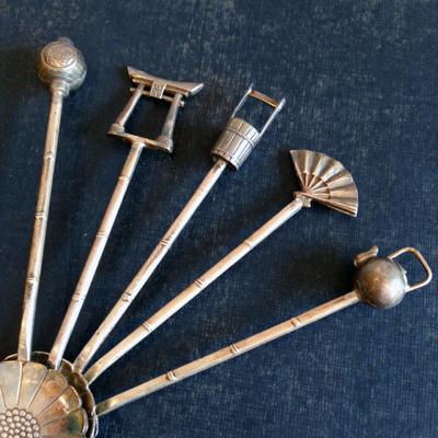 銀製品、シルバースプーン、銀器、伝統工芸、日本の夏、コーヒースプーン、骨董