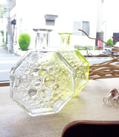 北欧、ガラスボトル、RihimaenLasi、NannyStill、Finland