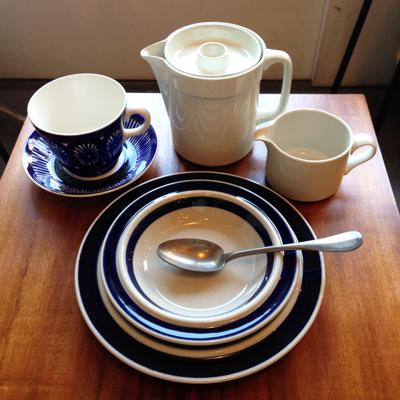 北欧食器、アラビア、ロイヤルコペンハーゲン、ヴィンテージ、朝ごはん