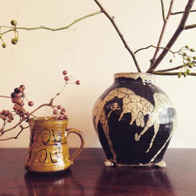 合田好道「流掛花瓶」