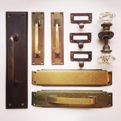 真鍮、建具、アンティーク、パーツ、ドアノブ、ハンドル、取手、diy