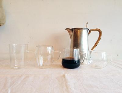イエナガラス、ドイツ、耐熱ガラス、マグカップ、コーヒーカップ、アンティーク、ドイツ、jenaerglas