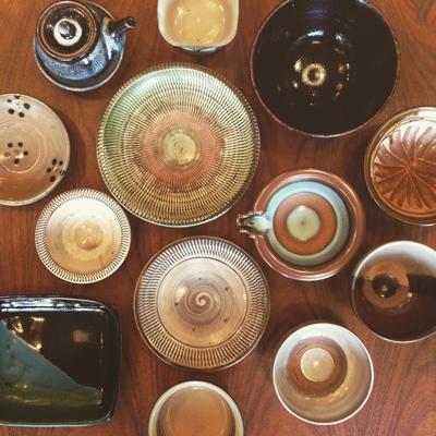 陶器市、民陶、民芸、和食器、焼き物、クラフトフェア、湯町窯、小代焼、小鹿田焼
