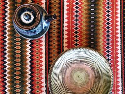 北欧、タペストリー、テーブルランナー、織物、手仕事、ハンドメイド