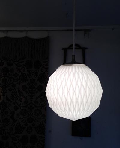 乳白ガラスシェード、ペンダントライト、ペンダントランプ、河合照明、ヤマギワ、レクリント、北欧、モダン照明