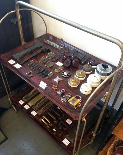 古道具、職人、アンティーク、住宅パーツ、建具、真鍮製、暮らしの道具