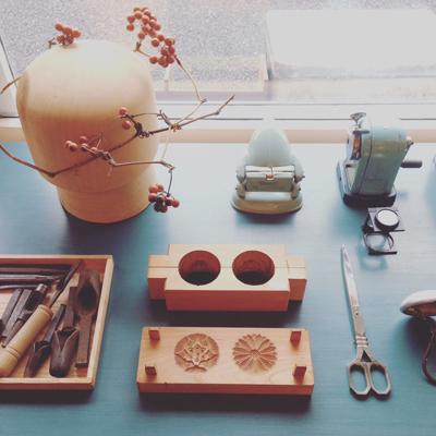 暮らしの道具、職人、道具、木型、菓子型、モールド、アンティーク、古道具、手芸用品、文房具