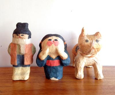仙台張り子、民芸、工芸品、干支もの、招き猫、ハンドクラフト