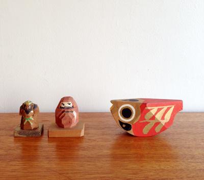 一刀彫、民芸、工芸、ハンドクラフト、ダルマ、鍾馗