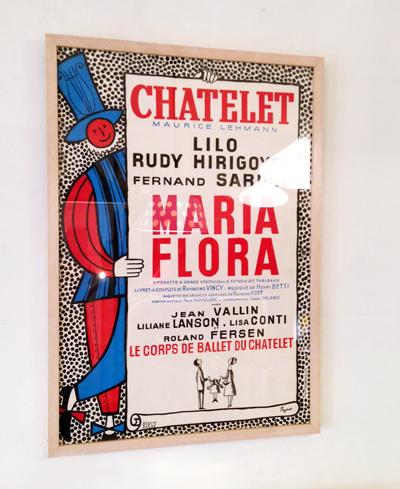 ペイネ、リトグラフポスター、フランス、1957、ヴィンテージ