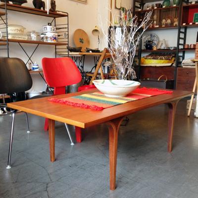 天童木工、コーヒーテーブル、ヴィンテージ、チーク