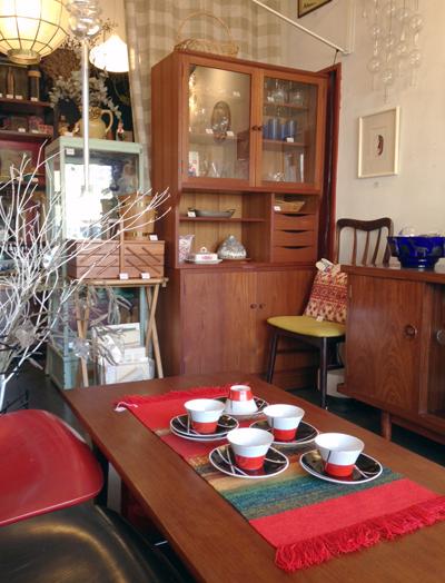 チークキャビネット、食器棚、ヴィンテージ