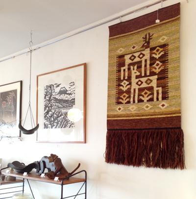 東欧、ヴィンテージ、タペストリー、織り物、伝統手工芸品