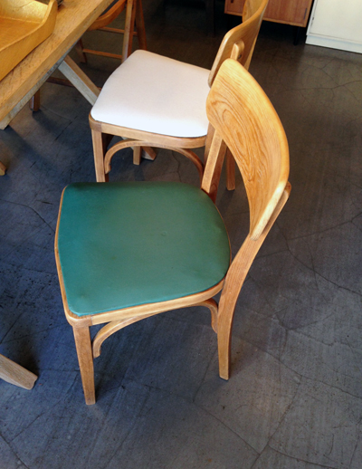 木の椅子、曲げ木、ヴィンテージ、チェア、張替え、ベントウッド、ナチュラルシック