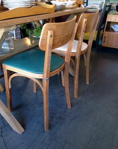 木の椅子、曲げ木、ヴィンテージ、チェア、張替え、ベントウッド、ナチュラルシック、日本製、アンティーク