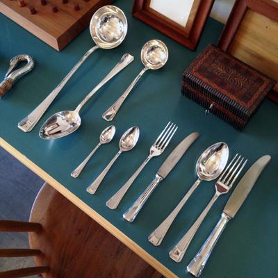 シルバープレート、アンティーク、カトラリー、シルバー、オーストリア、アーサークルップ、artherkrupp、silver、cutlery