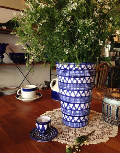花瓶、花のある暮らし、フラワーベース、ヴィンテージ、RobertPicault、Vallauris