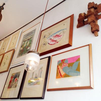 アート、版画、シルクスクリーン、作品、安井曽太郎、北岡文、小野忠重、関野準一郎、立山崇