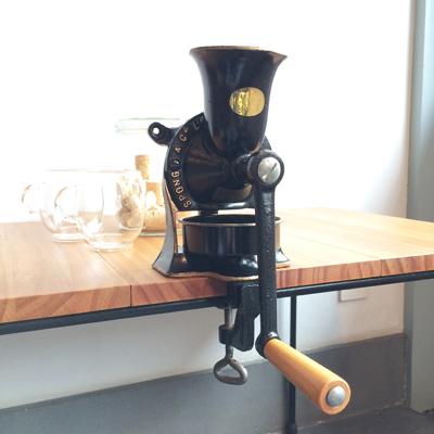 スポング、spong、コーヒーミル、ヴィンテージ、coffeemill
