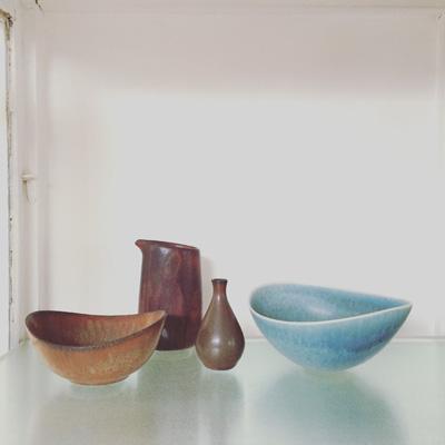 ヴィンテージの北欧陶器、スティグリンドベリ