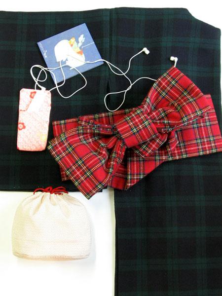 ロイヤルスチュワートの半巾帯