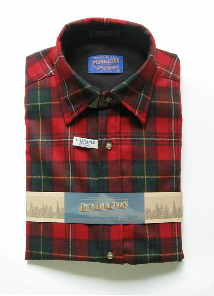 ペンドルトンボイドタータンチェックシャツ