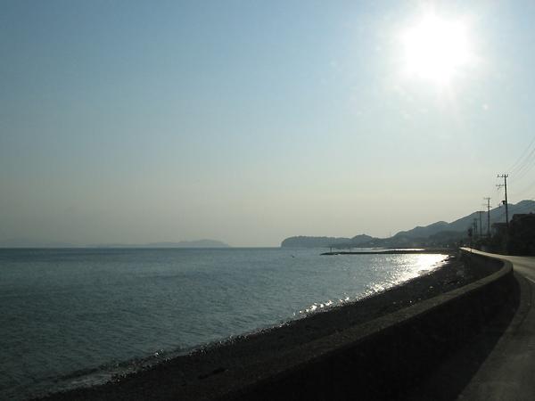 大阪湾紀伊水道を望む