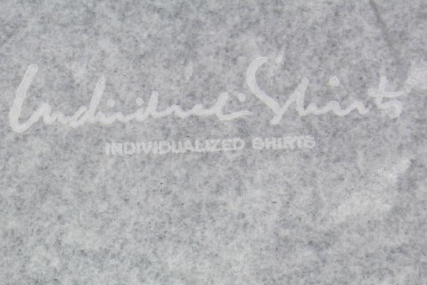 トロイシャツメーカーズギルド・インディビジュアライズドシャツ薄紙