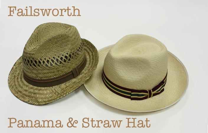 パナマハットと麦わら帽子 フェイルスワース