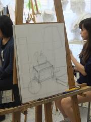 用賀アトリエ日曜午前授業風景3