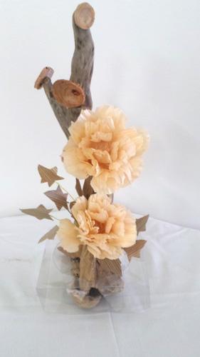 木の花・流木アレンジ