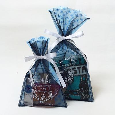 洋菓子 ラッピング オーガンジー